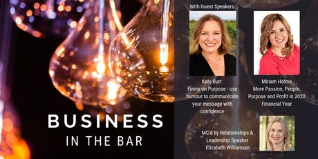 Business in the Bar tickets