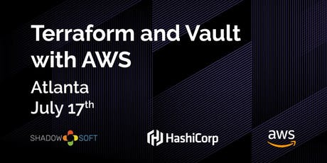 Terraform and Vault with AWS tickets