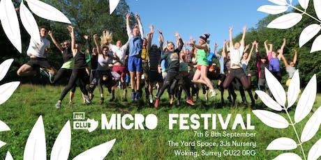 Escape Club Micro-festival tickets