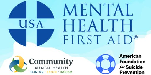 Mental Health First Aid (ADULT) $25.00