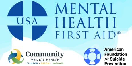 Youth Mental Health First Aid $25.00 tickets