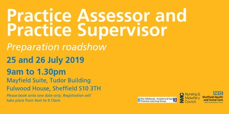 Practice Assessor and Practice Supervisor preparation roadshow - Thursday tickets