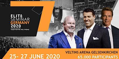 Elite Seminar 2020 cu Tony Robbins, Arnold Schwarzenegger, Eric W. Tickets