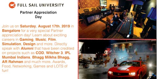 Full Sail University's Partner Appreciation Day, Bangalore