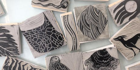 Stamp Carving with Natasha Russell for Young People aged 11-14 tickets