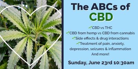 The ABCs of CBD  tickets