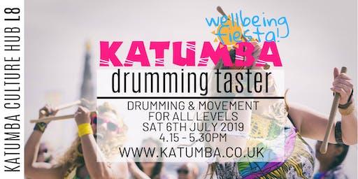 Drumming Taster for Adults - Katumba Wellbeing Fiesta