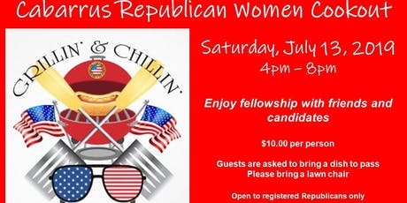 Cabarrus Republican Women Cookout tickets