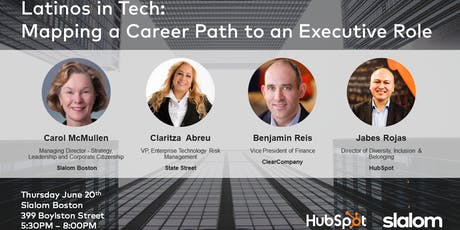 Latinos in Tech: Mapping a Career Path to an Executive Role tickets