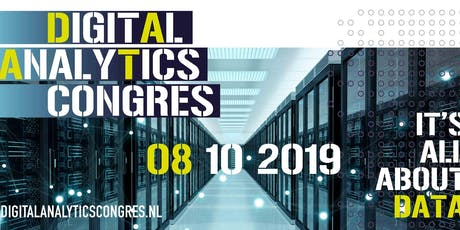Digital Analytics Congres 2019 tickets