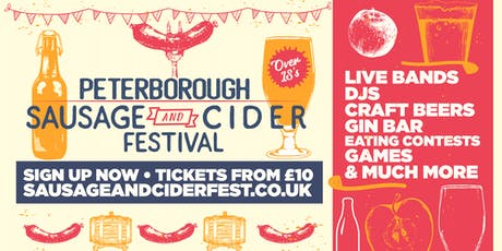Sausage And Cider Fest - Peterborough tickets
