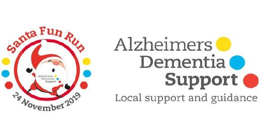 Alzheimers Dementia Support ADS Santa Fun Run 5k Run 24th November 2019