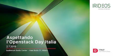 Aspettando l'Openstack Day Italia biglietti