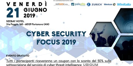 Cyber Security Focus 2019 biglietti