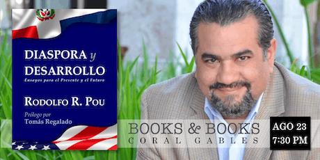 Con el Autor de Diáspora y Desarrollo entradas
