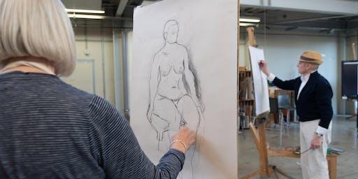 RHACC 6 July Open Day - Taster - Life Drawing
