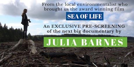 Exclusive Pre-Screening with Local Filmmaker Julia Barnes tickets