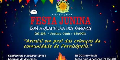 17 Festa Junina Ong Florescer Com Quadrilha Dos Famosos, SP ingressos