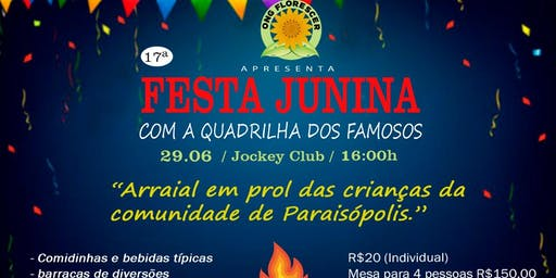 17 Festa Junina Ong Florescer Com Quadrilha Dos Famosos, SP