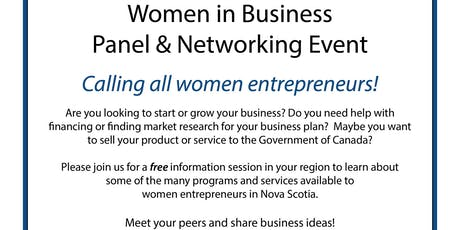 Women in Business: Panel & Networking Event tickets