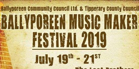 Ballyporeen Music Maker Festival  tickets