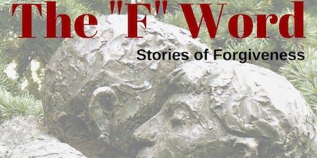 """The """"F"""" Word: Talk by Figen Murray tickets"""