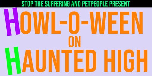 STS and Pet People present Howl-o-ween on Haunted High!