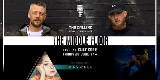 The Middle Floor Live at Cult Cafe, alongside Caswell