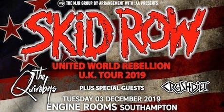Skid Row + The Quireboys + Crash Diet (Engine Rooms, Southampton)