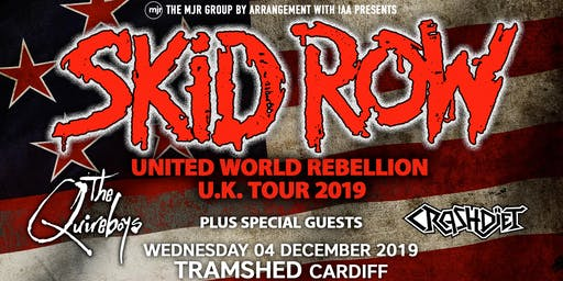 Skid Row + The Quireboys + Crash Diet (Tramshed, Cardiff)