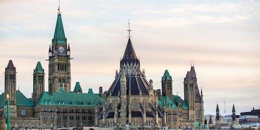Launch Ottawa Writers' Retreat (August 2019) Ideas taking off.
