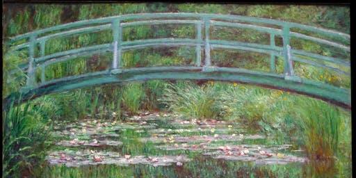 Monet's Japanese Footbridge at The Althorp, Wandsworth
