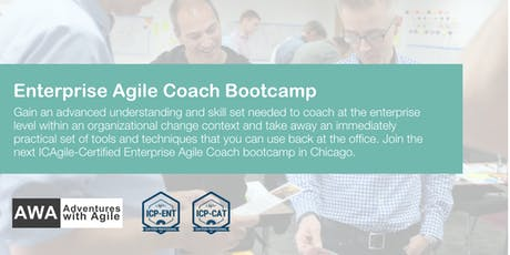 Enterprise Agile Coach Bootcamp (ICP-ENT & ICP-CAT) | Chicago - September 2019 tickets