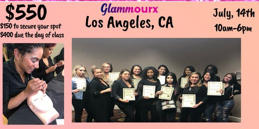Glammourx LA Lash Training