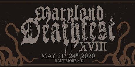 Maryland Deathfest 2020 tickets