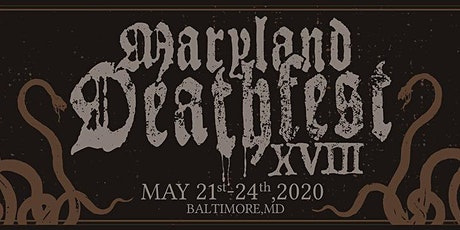 Maryland Deathfest 2020 tickets