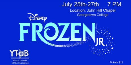 YToB Presents Disney's Frozen JR. tickets