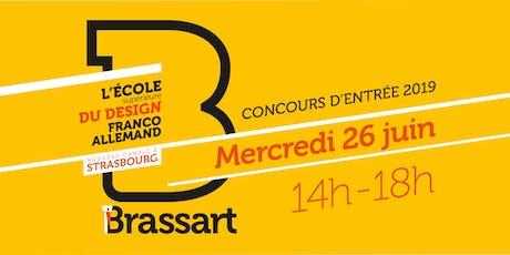 Concours d'entrée Brassart billets
