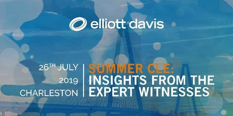 Summer CLE: Insights from the Expert Witnesses tickets