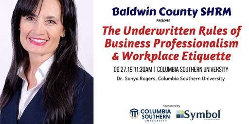 June 2019 Baldwin County SHRM Meeting