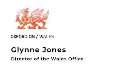 Glynne Jones, Director of the Wales Office tickets