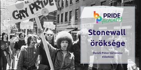 Pride Academy: Stonewall öröksége  tickets