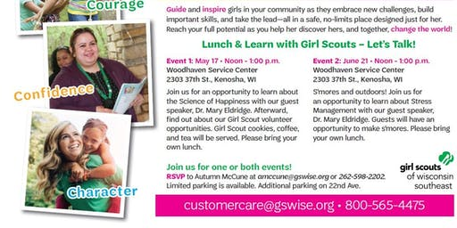 (Bring your own) Lunch and Learn with Girl Scouts