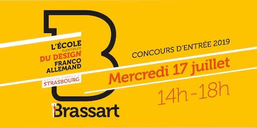 Concours d'entrée Brassart