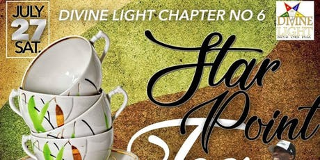 Annual Star Point Tea hosted by Divine Light Chapter No. 6 OES PHA tickets