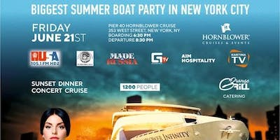 NewYork RUSA,PetroushkaBall,MadeinRussia  present Biggest Boat Party June21