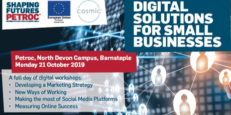 Digital Solutions for Small Businesses  tickets