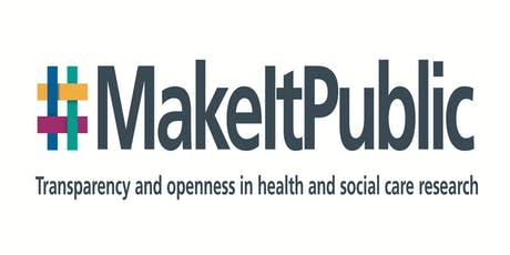 Make it public - HRA research transparency consultation workshop, Cardiff tickets