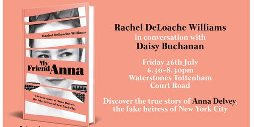 My Friend Anna: An Evening with Rachel DeLoache Williams