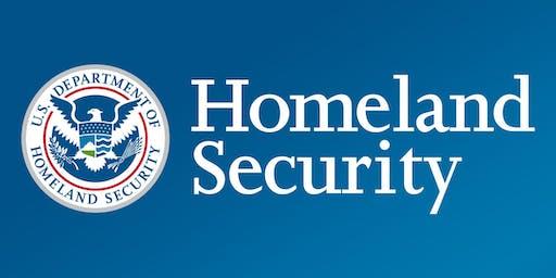National Security Workshop: Department of Homeland Security